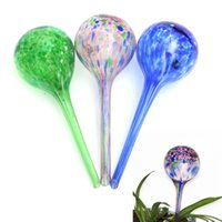 Wholesale Cute Design Fashion Water Ball Plant ml Automatic Watering Glass Bulbs Flower Drip Irrigation Tools x20cm