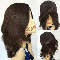 best kosher - Top Grade A Unprocessed Virgin European Hair Big Layer Jewish wig Silk Top Kosher wigs Best Sheitels