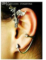 alchemy gothic ring - ear cuff jewelry women alchemy gothic Punk Style Dragon Stud Earings Ear Clip Hook Ring rock Jewelry cuffs brincos jackets