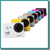 Wholesale SJ6000 Style WIFI Action Camera N9 Helmet sport Camera degee Lens M waterproof FHD P HDMI Car DV DVR