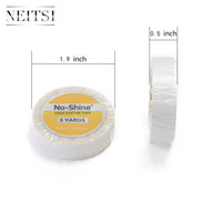 Wholesale Neitsi High Quality No Shine Glue Tape cm Yard Super Adhesive Roll Double Sided Tape