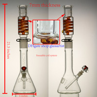 based system - high quality glass bong inches freezable coil system mm thickness beaker base mm joint giving downstem and bowl
