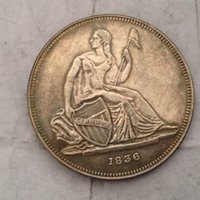 antique dollar - USA Gobrecht dollar Coin Crafts pieces bale Promotion Cheap Factory Price nice home Accessories Silver Coins