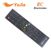 Wholesale 1pc Remote Control for AZbox Bravissimo satellite receiver RC remote controller bravissimo post order lt no track