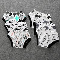 Wholesale 2016 Baby Clothes Boys Girls Panties Cartoon Animal Underwear Children Kids Cotton Leggings Harem Shorts Pants Newborn Trousers Summer