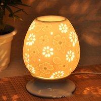 Wholesale Novelty Color Owl Essential Oil Burner Ceramic Furnace Oil Lamp Big Home Fragrance Lamp Holder Fashion Interior Decoration Candle Base DC836