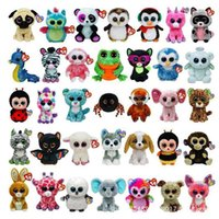 Wholesale Ty Beanie Boos Big Eyes Small Unicorn Plush Toy Doll Kawaii Stuffed Animals Collection Lovely A wide variety of styles
