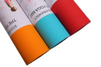 Wholesale Super soft Yoga Mat Lightweight Classic Premium Non Slip Eco Friendly with Carry Strap TPE Material Yoga Mat and Exercise Pad