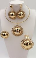 africa times - 2016 in Africa yue leah women fashion jewelry set gold plated necklace bracelet earrings ring times