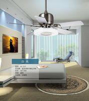 ac frequency converters - Modern living room bedroom ceiling fan light remote control mute fan light restaurant ceiling fan lights Fan frequency converter