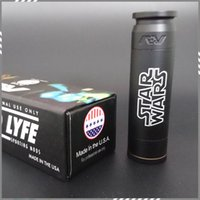 av star - New Able Mod Star Wars AV style Mech Electronic Cigarette Clone fit Battery Star Wars AV Mechanical Mod DHL Free