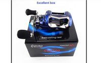 Wholesale Brand New Super Light Anti Corrosive BB Fresh Salt Water Baitcasting wide large line cup Fishing Reel Lure Fishing Reel