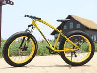 bmx bikes - 26 inches speed speed of snow damping Beach Bike Disc brakes super wide tires mountain bike