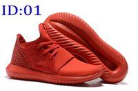 al por mayor us12 tubular-2016 Zapatillas de deporte tubulares para mujer Y3 de la mujer para hombre, tamaño deportivo atlético de las zapatillas de deporte de los zapatos que caminan atléticos de la alta calidad: 36-45