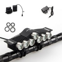 bar battery pack - Ultra Bright CREE XM L2 Modes LED Headlight Bicycle Front Handle Bar Headlamp with Battery Pack