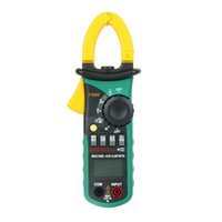 Wholesale MASTECH MS2108S True RMS Digital AC DC Current Clamp Meter Multimeter Capacitance Frequency Inrush Current Tester