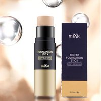 Wholesale mixiu makeup stick foundation with brush hide blemish face eye lip creamy concealer stick foundation stick concealer removing black eyes