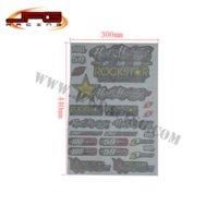 Wholesale 3M Decals Stickers for pit bike dirt bike motorcycle motocross supermotard enduro ATV quad rockstar logo