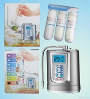 Wholesale DHL Plates Automatic Drinking water alkaline water ionizer machine alkaline water ionizer JM ORP with water purifiers fr