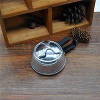 Wholesale pc metal shisha hookah bowl head charcoal holder heat keeper for hookah shisha charcoal stove burner silicone bowl with box