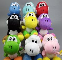 Wholesale MOQ Super Mario bros light blue yoshi quot soft plush doll toy SUPER MARIO plush toys
