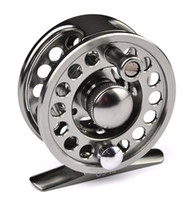 Wholesale Hot New Top Quality Fishing Wheel Diameter mm Fishing Reel Silver Fly Reel Fly Fishing Wheel