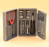 Wholesale 24 PC hardware tool Screwdrivers Pilers Knives set