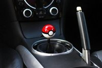 Wholesale Diameter mm Acrylic Poke mon go Ball Car Racing Gear Shift Knob M x1 Universal Shift Knob Gear Diameter