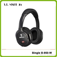 b w computer - Bingle B W Dual G Wireless Wired HiFi Sound Multi Function Computer PC Phone Headset Headphones Earphones W Mic Dongle