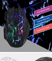 Wholesale 2016 Hot Sale DPI Buttons colors LED Optical USB Wired Mouse Gamer Mice Computer Mouse Gaming Mouse For Pro Gamer