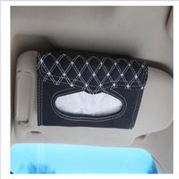 auto parts europe - Car visor tissue box car accessories Clipboard tissue boxes Napkin Holder Auto Parts