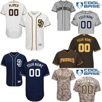baseball padres - cheap Men s Custom San Diego Padres Baseball Jersey Flexbase Collection For Sale stitched size S XL