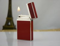 Wholesale Genuine ST memorial Dupont lighter Copper core France Langqing lighter Chinese lacquer