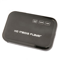 Wholesale Digital USB Full HD P HDD Media Player HDMI VGA SD MMC Support DIVX AVI RMVB MP4 H FLV MKV Music Movie