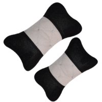 auto acessories - One pair car seat cushion sets headrest Interior acessories composite cotton embroidered seat supports auto safety pillow hot