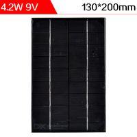 Compra Silicio w-ELEGEEK 4.2W 9V 130 * 200 * 3m m Resina epoxy encapsuló el panel solar de la célula solar del silicio monocristalino mini para DIY y la prueba libera el envío