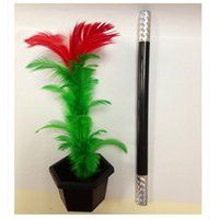 Wholesale Kids Fun Toy Gift Comedy Party Stage Magic Trick Show Prop Flower Feather Sticks