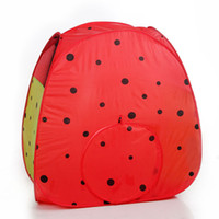 Wholesale Portable Folding Watermelon Tent Children Kids Castle Cubby Play House Indoor and Outdoor Kid Playhouse Tent Easy to Setup Safe and Sturdy