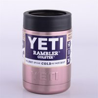 Wholesale 9 colors OZ YETI cup coolers oz Colsters Stainless Steel Insulation Cups colorful Rambler Tumbler cup coffee mug Cars Beer hot
