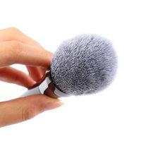 aluminium metal powder - 1PC Professional Aluminium Tube Cosmetic Stipple Wool Powder Blush Face Foundation Makeup Brushes Tool