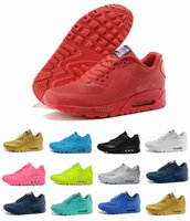 Wholesale 2016 Hyperfuse USA MAX Running Shoes Flag High Quality Red Black White Outdoor Sneakers maxes Sport shoes
