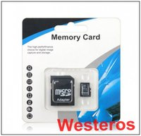 Wholesale Real capacity Quality memory cards GB GB GB class10 tf micro sd cards and adapter Free DHL