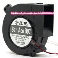 air bearings - Origiinal SANYO centrifugal turbine fan BAM12GC2 large air flow V A dual ball bearings wires fan