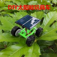 bamboo plants bulk - whilesale lovely DIY solar toy car DIY solar car toy car bulk production of small hand Textbook
