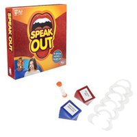 big retail - 2016 new Speak Out Games Ridiculous Mouthpiece Challenge Game game for your mouthpiece with paper cards