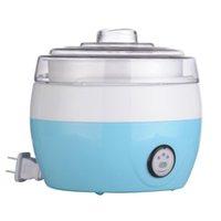 Wholesale 2016 New Piece Stainless Steel Liner Electric Full automatic Yogurt Maker Natto Maker Yogurt Machine Breakfast