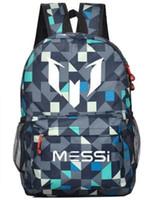 barcelona phone - Lionel Messi Logo Barcelona Bag Casual Laptop Backpack Schoolbag Sack