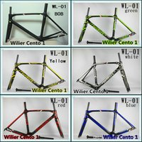 Wholesale Cent0 K BB30 PF30 Best selling Willier road bike carbon frame Made in China Glossy Matte carbon road bike frames