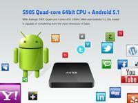 Wholesale Amlogic S905 Android TV Box KODI installed Quad Core Smart TV Boxes WIFI Google Play K OTT TV Media Player
