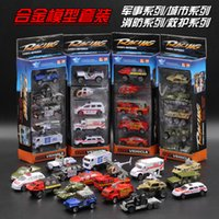 alloy motorcycle tanks - 20 alloy car model suits the fire an ambulance city car model of the military